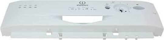 Indesit Dishwasher Control Panel frame silver Panel Facia IDL40UK,