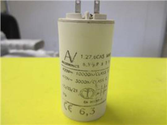 Smeg and other Brand RANGEHOOD MOTOR START CAPACITOR Capacitor 6.3uf ,K24SLM90, K181V90, P591, P781, CLASSIC591,