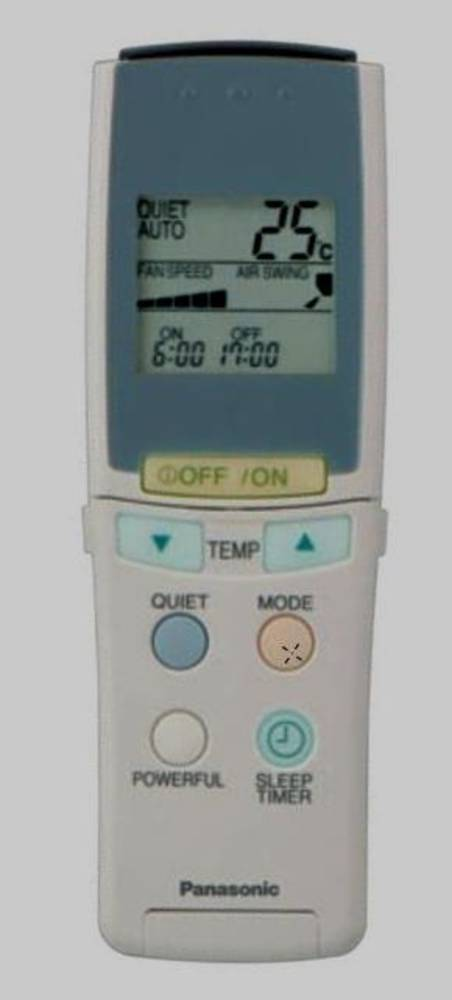 Panasonic Air condition and Heat Pump Remoter Controller CSME7CKPG,