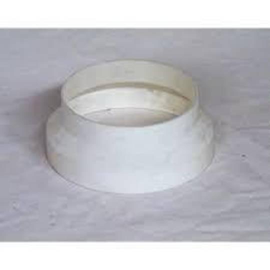 RANGEHOOD OUTLET TUBE REDUCER FLUE ADAPTOR 150MM T0 125MM