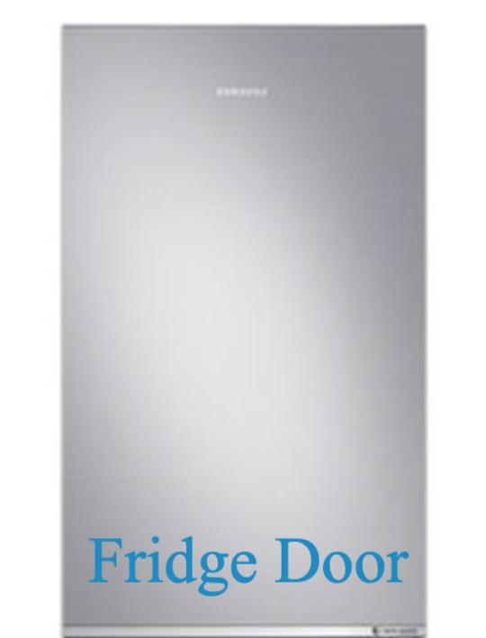 Samsung Fridge Door Assy  RB4000N RB30N4020S8/SA SRL335NLS, *970C