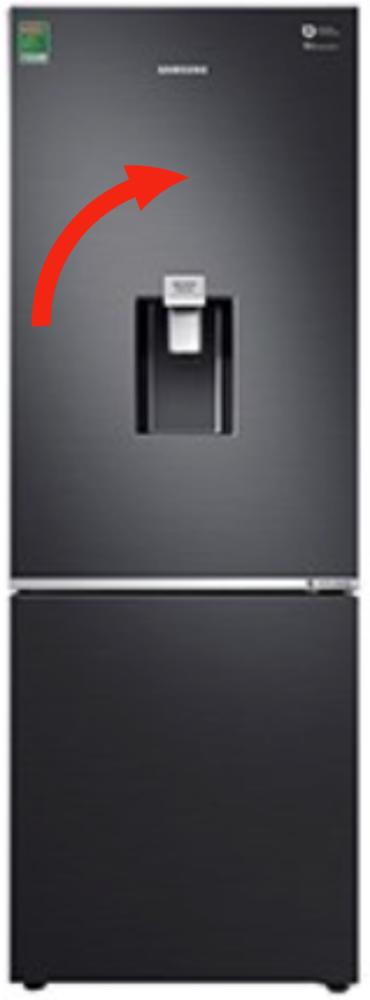 Samsung Freezer Door Assy  RB4000N RB30N4180B1/SV SRL335NLS, *971B
