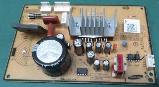 Samsung Fridge PCB INVERTER ASSY Model RT29K5035SL/SA  SN 0D5D4DAK300076 Version 05 SR318LSTC,
