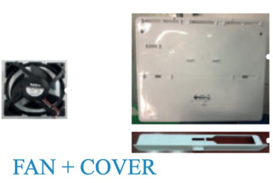 Samsung Fridge freezer FAN MOTOR INSIDE FREEZER ASSY  SR254MW, SR340MW,