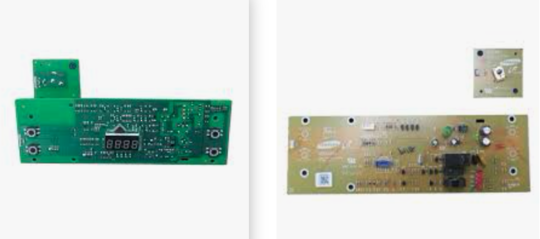 Samsung Oven PCB power controller board BF1N4T015/XSA, *02875A,