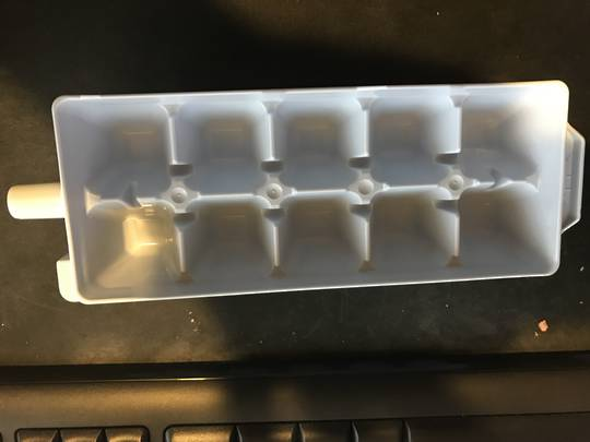 Mitsubishi Fridge Ice Tray MRCU375P, MRCU415P, MRCU375T, MRCU415T, MRCU375U, MRCU415U, MRCU375X, MRCU415X, MRCU375S, *N90451