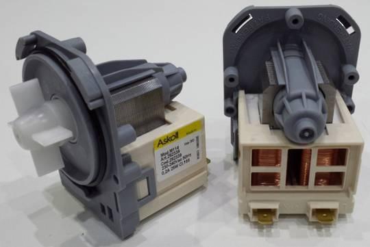 Westinghouse Simpson Electrolux Dishwasher Drain Pump , 3 lug separate plug , ASKOL<