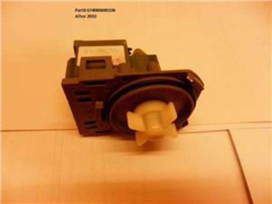 Classique dishwasher drain pump CLD14, CLD62SS, CLD60SS, CLD60W, CLD62W, CL45DSS MADE AFTER 2010