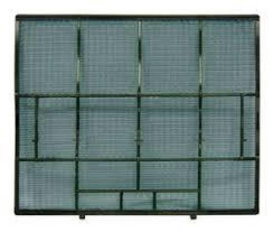 Mitsubishi Heat Pump catechin filter left MSZ-GB50VA-A1, MSZ-GB35VA-A1, MSZ-GA22VA-A1, MSZ-GA22VA-A2, MSZ-GA25VA-A1, MSZ-GA25VA-