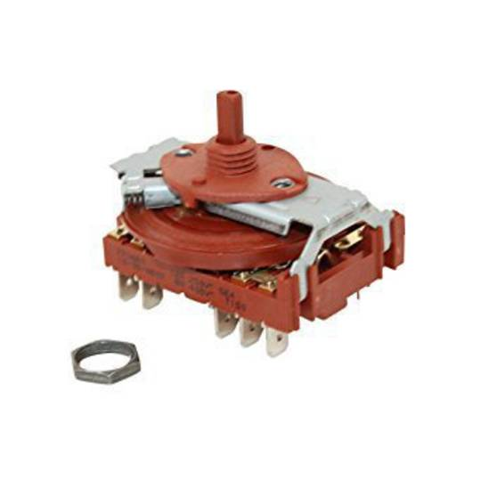 Beko Cooktop Selector Switch BE61HCW, BE61HCX, BE61HPW, BE61HPX, BEH1W, BEH1X, C60EW, DEHS6X, EBH6CX, EBH6PX, FFE60X, FLH6CX, FL
