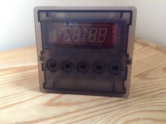 Fisher Paykel Oven Electronic Timer programmer Clock Timer 5 bottom OR90SDBGFX1, 80469,