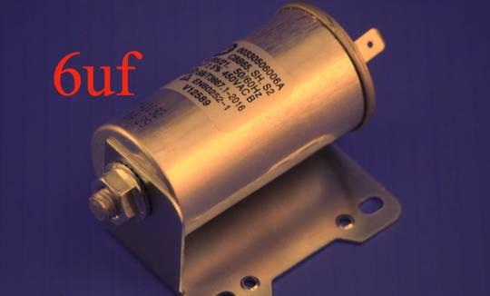 Fisher Paykel and Haier Dryer CAPACITOR DE6060P1, DE6060G1, DE5060G1, DE5060M1, DE4060M1, DE7060P1, DE7060G1,