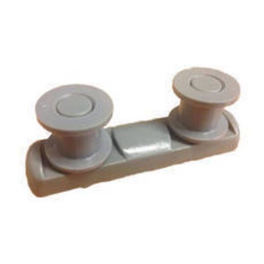 Elba and Fisher Paykel Upper Basket Wheels rollers on side wall DW60CSW1, DW60CSW2, DW60CDW1, DW60CDW2, DW60CSX1,