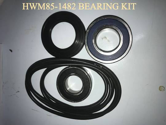 Haier WASHING MACHINE rear bearings and Tub Seal kit HWM85-1482,