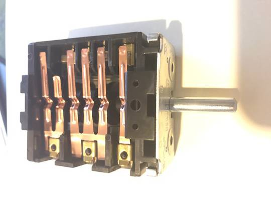 Baumatic Oven function switch BK264PSS,  4+0 position,