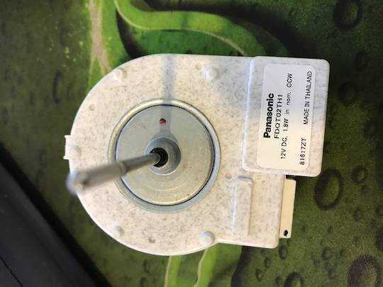 FISHER PAYKEL AND HAIER fan MOTOR FOR FRIDGE HTMR480SS, HTMR575WH, HTMR575SS,