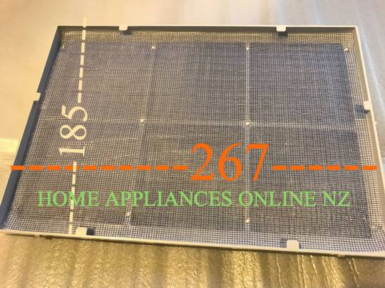 MITSUBISHI DEHUMIDIFIER AIR FILTER frame or holder  MJ-E20TX-A1, MJ-E16VX-S1,