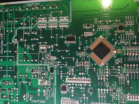 Mitsubishi Fridge PCB REFCON MR-BF325B-A, W or S