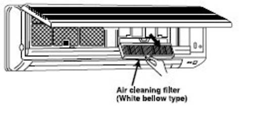MITSUBISHI ELECTRIC AIR CON AIR CLEANING FILTER MSH30SV,