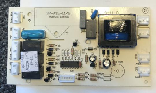 SMEG Rangehood Control Unit ELECTRICAL PCB BRC90SS,