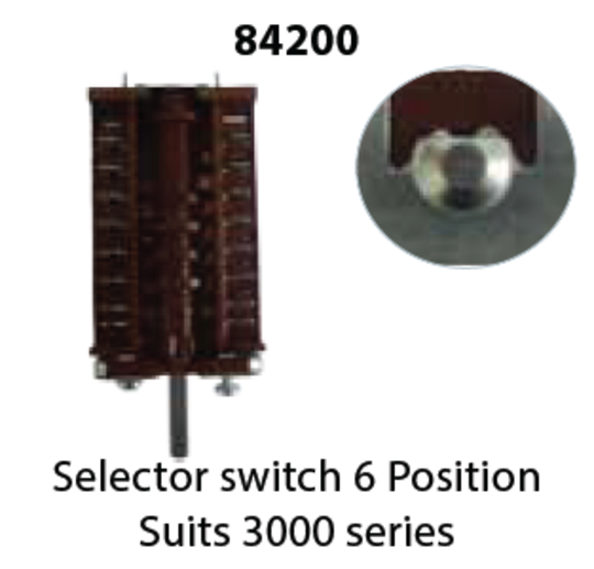 Westinghouse Simpsin Oven Multi Function Switch Selector switch 84200,