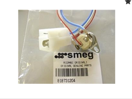 Smeg Ovens cooling fan limiter Cut out Thermostat, 3 wire