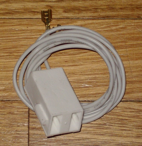 Simpson Westinghouse Freestanding Oven Stove White Connector Block & Wires 2u600, 2u601, 2u603, 2u603, 2u604, 2u605, 2u606, 2u60