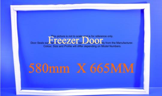 Fisher Paykel Freezer Door Seal Gasket E406B, E442B,