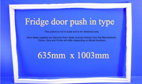 Fisher Paykel Fridge Door Seal or Gasket E402B,