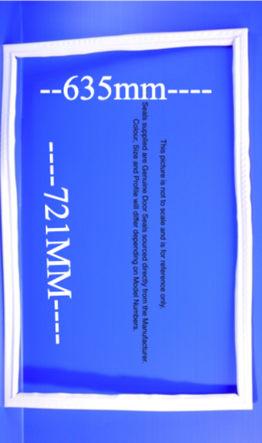Fisher Paykel Fridge Door Seal or Gasket suits C415H E415H N400H