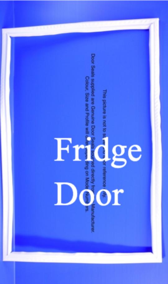 Fisher Paykel Fridge Door Seal Gasket C520T E521T N500B, N510T, *824P