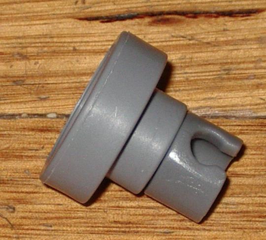 Whirlpool Dishwasher Upper Basket wheels  ADP6000IX, ADP6000WH, ADP7000,  Type 2