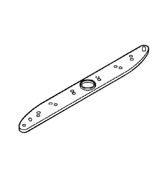 1527169112 Aeg Dishwasher SPRAY ARM UPPER DARK GREY