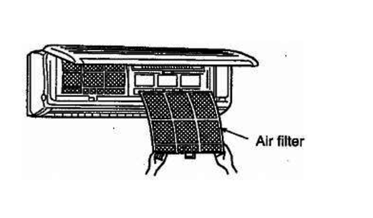 Mitsubishi AIRCON AIR FILTER MSH07RV MSH09RV