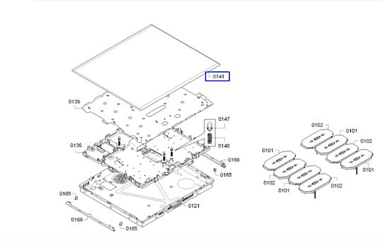 Bosch Induction Cooktop Glass ceramic Top PXX675FC1E,