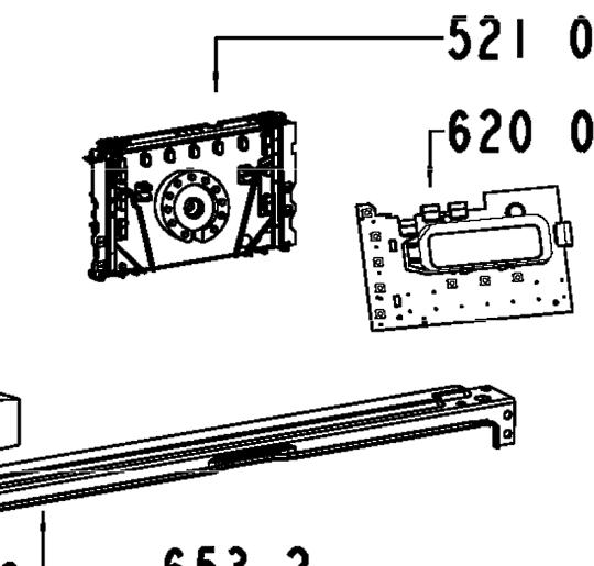 Whirlpool Washing Machine WFS1285AW PCB Power Controller Board ,