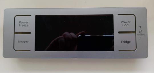 Samsung Fridge Freezer Display controller Board Assy SRS600NLS, RS21HNUPN1/XSA, RS21HNUSL1/XSA, RS23HNURS1/XSA, SRS600HNP, SRS60