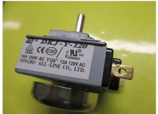 Baumatic Oven Timer BK60FHPSS, DKJ-Y-120 NINGBO, 209263, E209263,