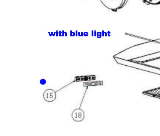 Baumatic Range Hood Rangehood Display board switch BKH900GLS, BKH600gls,