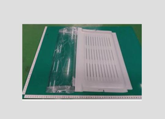 Samsung Fridge Veggie bin cover or shelf srs636scls,