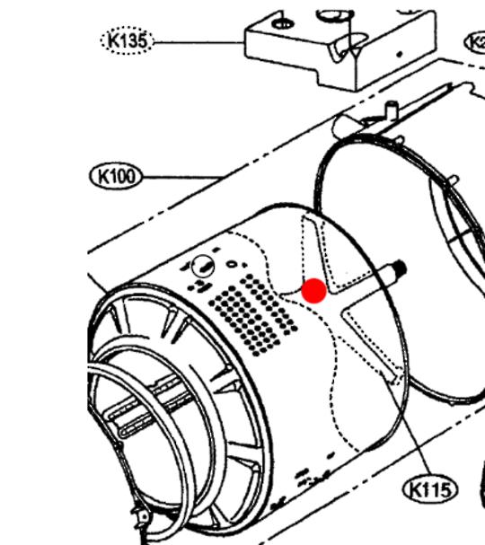 Westinghouse and Lg Washing Machine Spider Shaft, LF711C, lf708c, NO LONGER AVAILABLE