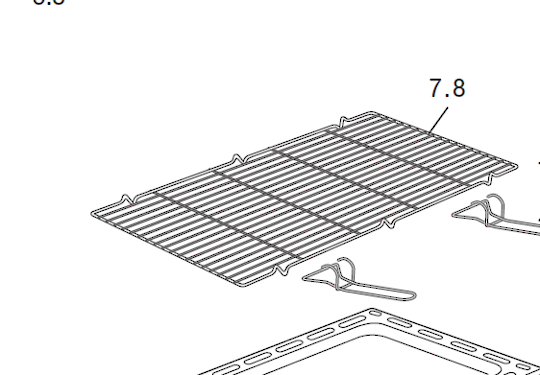 DELONGHI OVEN GRILL tray RACK D906G, D906GWF,