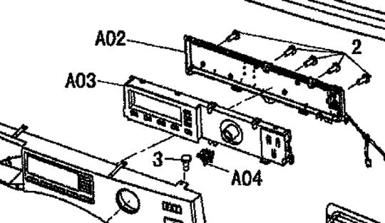 Panasonic Washing Machine PCB NA-140VG3  NA-148VG3,