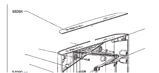 Smeg Dishwasher Door DECAL blv1ne-1,