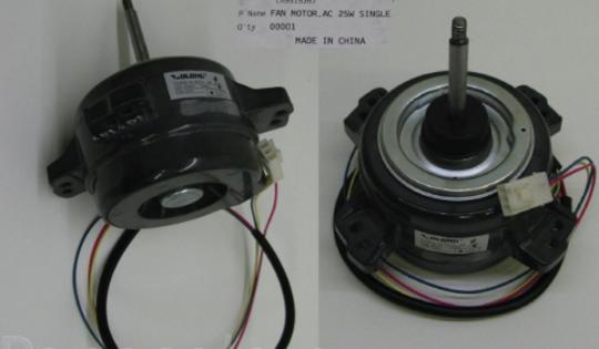 Panasonic Air-condition and Heat Pump Fan Motor OUT DOOR CS-E21GKR CS-E24GKR CS-E28GKR,