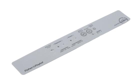 Fisher Paykel Inverted Dryer Decal DE45F56EW1,