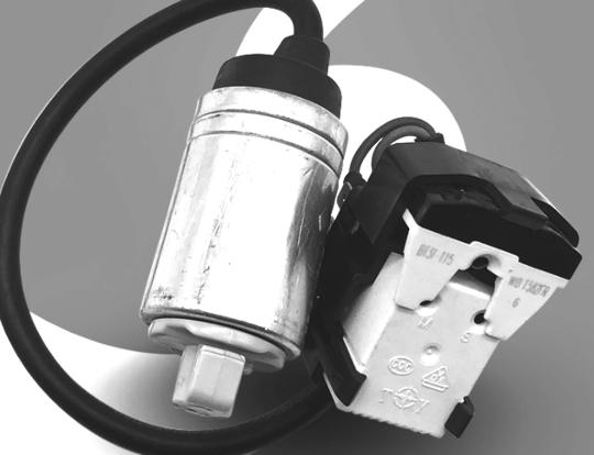 Haier fridge Relay and Capacitor hrb227w, HFM185D,