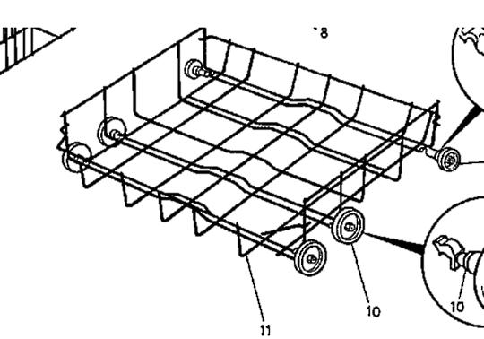 Westinghous simpson  Dishwasher lower basket , No Longer Available,