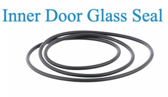 Bosch oven Door inner glass  Seal Gasket HBC86K750A, HBC84K553A,*6068,
