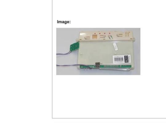 Fisher Paykel dishwasher controller Board Nemo DW820, Dw 820, 87793, 87793820,  ** NLA***